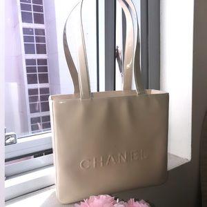 Chanel Vintage tote Gold-Tone Hardware